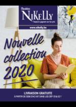 Prospectus  : Nouvelle collection 2020