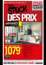 Prospectus Brico Dépôt : Du stock, des prix !