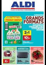 Prospectus Aldi : Grands Formats: pour le soin de votre linge ou celui de votre budget ?