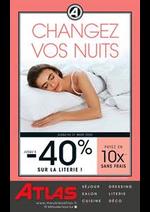 Promos et remises Atlas : Changez vos nuits