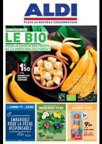 Prospectus Aldi Aulnay-sous-Bois : Le BIO, pour la saveur des fruits ou la vertu des cultures