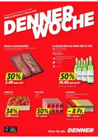 Promos et remises DENNER Bern - Brunnmattstrasse : Denner Woche KW 08
