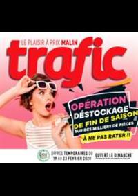 Prospectus Trafic Anderlecht : Offres Destockage