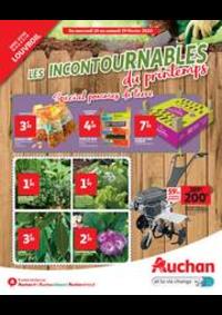 Prospectus Auchan Louvroil : LES INCONTOURNABLES DU PRINTEMPS