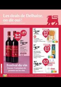 Promos et remises Supermarché Delhaize Morlanwelz : Nouveau: Promotion de la semaine