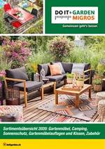 Prospectus Do it + Garden : Gartenmöbel-Saison 2020