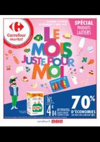 Prospectus Carrefour Market Thonon-les-Bains - Avenue Jules Ferry : Le mois juste pour moi