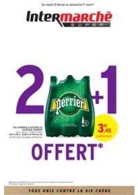 Prospectus Intermarché Super Yerres : 2 + 1 OFFERT