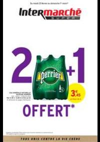 Prospectus Intermarché Super Ennezat : 2 + 1 OFFERT