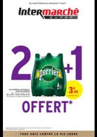 Prospectus Intermarché Super Nanterre : 2 + 1 OFFERT
