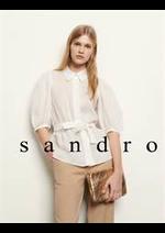 Prospectus Sandro : Collection Femme
