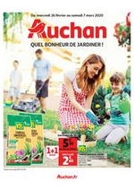 Prospectus Auchan : Quel bonheur de jardiner !