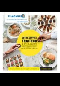 Prospectus E.Leclerc FRANCONVILLE : Votre service traiteur à prix E.Leclerc