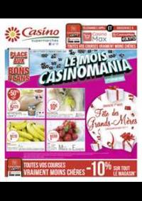 Prospectus Supermarchés Casino DEUIL LA BARRE : Le mois Casinomania