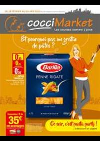 Prospectus CocciMarket PIERREFITTE SUR SEINE : Et pourquoi pas un gratin de pâtes?