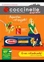 Prospectus Coccinelle Express : Aujourd'hui c'est spaghetti!