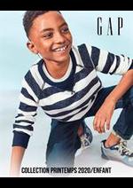 Catalogues et collections Gap : Collection Printemps 2020  Enfant