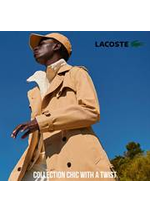 Catalogues et collections Lacoste : Collection Chic With A Twist