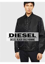 Catalogues et collections Diesel : Diesel Black Gold Homme