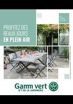 Prospectus  : Nouveau catalogue Plein air