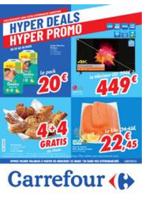 Prospectus Carrefour MALMEDY : folder Carrefour