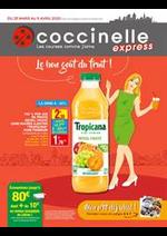 Prospectus Coccinelle Express : Le bon goût du fruit!