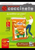 Prospectus Coccinelle : La madeleine que j'aime!