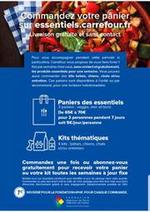 Services et infos pratiques Carrefour Market : Livraison Gratuite et sans contact