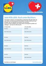 Services et infos pratiques Lidl : Jede Hilfe Zählt. Auch Unter Nachbarn.