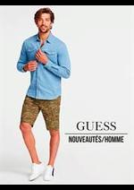 Prospectus Guess : Nouveautés / Homme