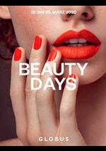 Journaux et magazines GLOBUS : Magazin Beauty Days