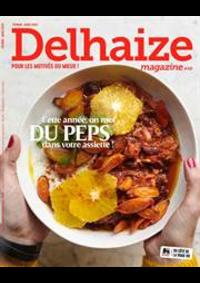 Prospectus Supermarché Delhaize Hasselt : Delhaize Magazine