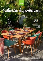 Prospectus  : Collection de jardin 2020