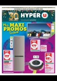 Prospectus Hyper U LES ARCS : MES MAXI PROMOS TECHNO