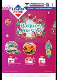 Prospectus Leader Price Draguignan : Pâques à Prix Choc