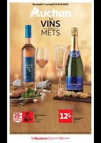 Prospectus Auchan ISSY LES MOULINEAUX : Auchan des vins et des mets