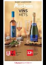 Prospectus Auchan : Auchan des vins et des mets