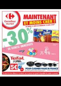 Prospectus Carrefour Market TARBES : Maintenant et moins cher !