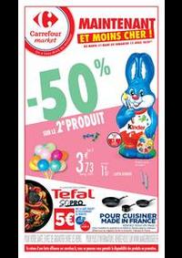 Promos et remises Carrefour Market Paris Saint Ouen : Maintenant et moins cher !