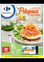 Prospectus Carrefour : Pâques à la carte