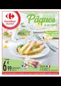 Prospectus Carrefour Market Vaires Sur Marne : Pâques à la carte