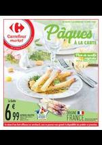 Prospectus Carrefour Market : Pâques à la carte