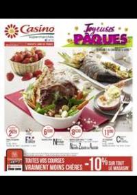 Prospectus Supermarchés Casino ASNIERES ZAC du métro - Ilot F : Joyeuses Pâques