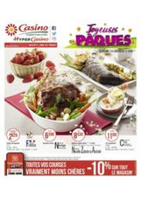 Prospectus Supermarchés Casino Clichy - Rue Martre : Joyeuses Pâques