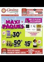 Promos et remises Supermarchés Casino : Maxi Pâques