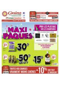 Prospectus Supermarchés Casino Clichy - Rue Martre : Maxi Pâques