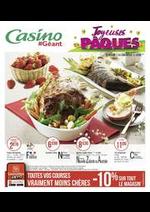 Prospectus Géant Casino : Joyeuses Pâques