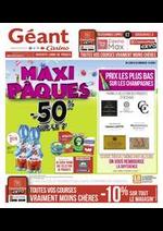 Promos et remises Géant Casino : Maxi Pâques