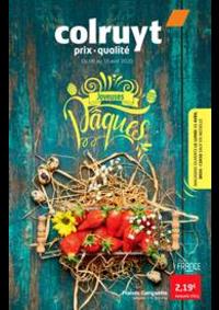 Prospectus Colruyt JEMEPPE-SUR-MEUSE : Joyeuses paques