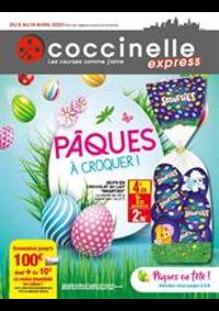 Prospectus Coccinelle Express ECOUEN : Pâques à croquer!